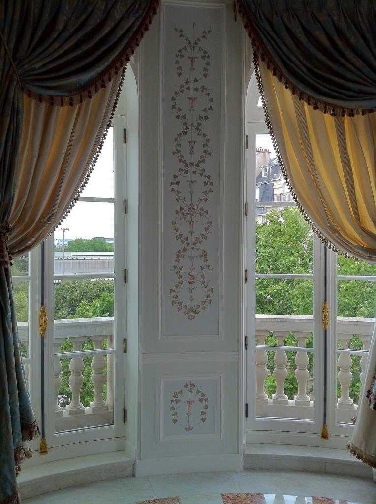 Pièce néo XVIII dans appartement