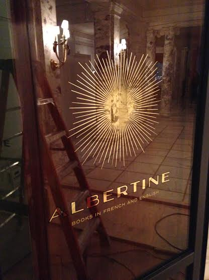 Albertine books in french and english, New York